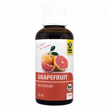 Grapefruit Kernextrakt Bio 50ml - Raab Vitalfood